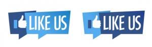 """""""polub nas"""" facebook"""