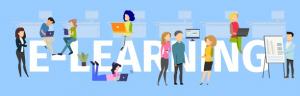 baner graficzny promujący platformę e-learningową