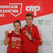 studenci SUM z medalami w sporcie