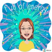 Obrazek osoby pełnej energii