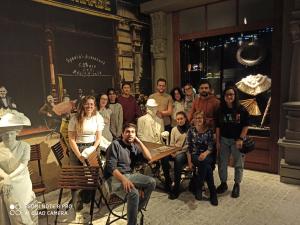 Zdjęcie grupowe Studentów Erasmus+ w Muzeum Śląskim.